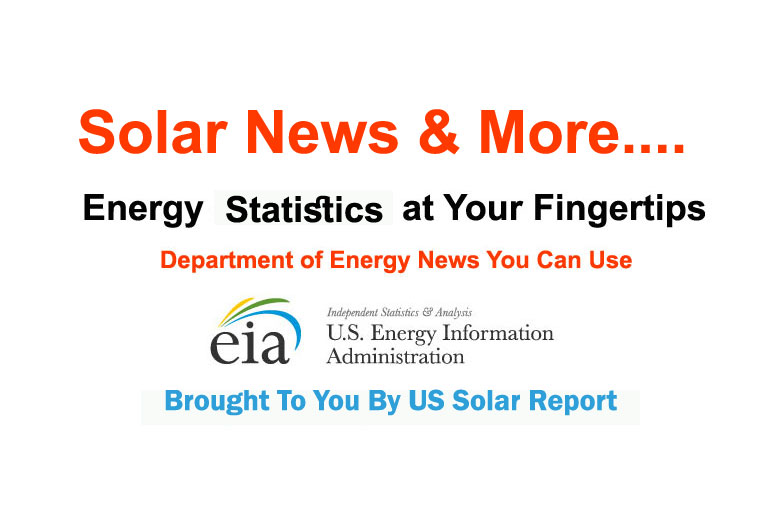 U.S. Department of Energy Information Administration, US solar report,