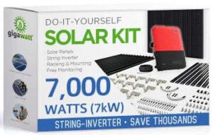 GGS-7000-Watt solar system